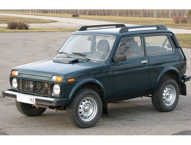 exterior 1600 lada niva 3 doors roof rack side rails kit. Black Bedroom Furniture Sets. Home Design Ideas