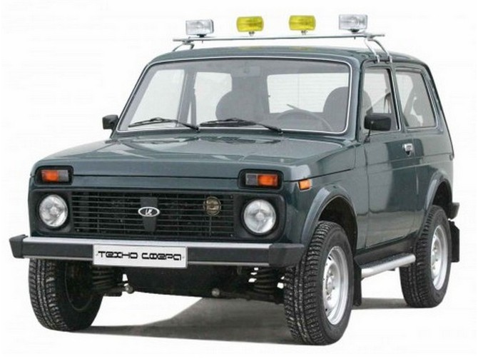 electric 1600 lada niva roof rack for additional fog. Black Bedroom Furniture Sets. Home Design Ideas