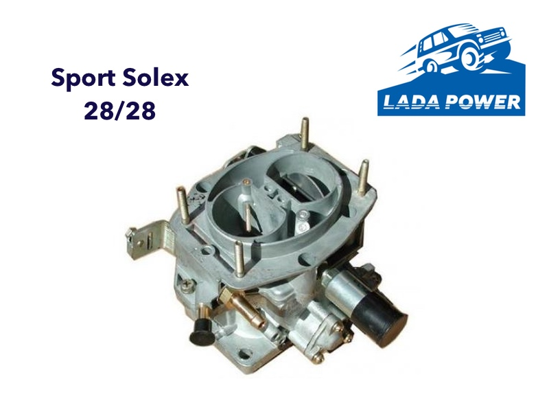 Lada From 1700cc Sport Solex Carburetor 28/28