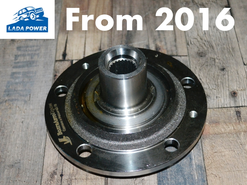 Lada Niva 21214M, Urban From 2016 Front Wheel Hub 24 Teeth (For Original Double Bearing)