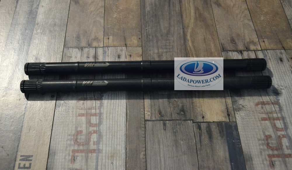 Lada Niva Front Wheel Drive Shaft REINFORCED VAL-RACING! 2 Pcs Kit + 10mm For Lifted Niva