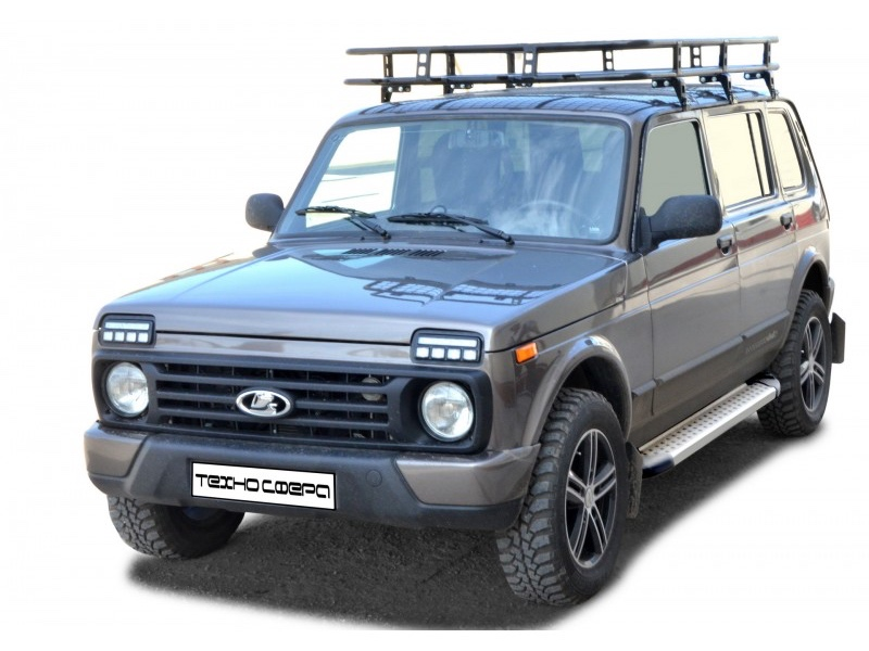 exterior 1600 lada niva 5 doors sidesteps footboards bmw. Black Bedroom Furniture Sets. Home Design Ideas