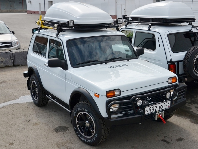 Lada Niva Expedition Roof Rack Elbrus Edition (Sale. Pick up from Belgium only. Read description + Video)