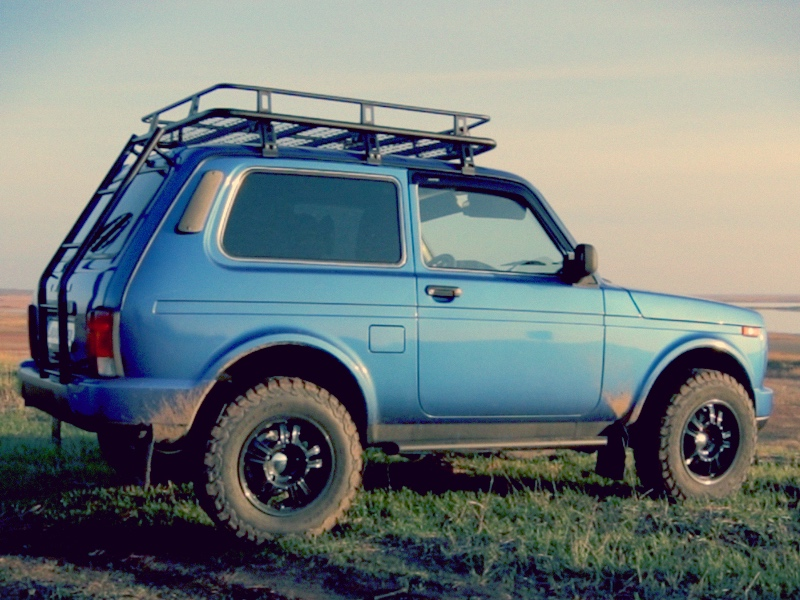 Lada Niva Expedition Roof Rack (Sale. Pick up from Belgium only. Read description + Video)