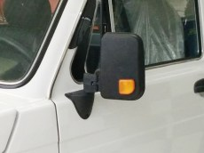 Lada Niva Big Mirrors Kit With Yellow Turn Repeater