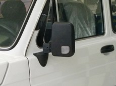 Lada Niva Big Mirrors Kit With White Turn Repeater