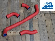 Lada Niva 1700 (And 1600 1995 Year) Set Of Silicone Radiator Hoses Pipes
