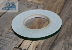 Double Sided Adhesive Tape White 10mx9mmx0.8mm