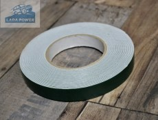 Double Sided Adhesive Tape White 10mx19mmx0.8mm