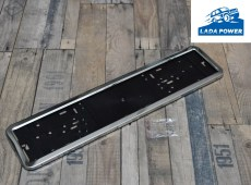 Lada License Plate Chrome Holder  (520x112 Plate Size)
