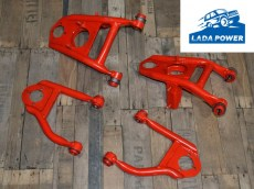 Lada 2101-2107 With Standard Height Suspension Reinforced Control Arms Kit