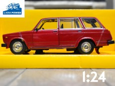 Lada 2104 Red Toy Car 1:24 (19cm)