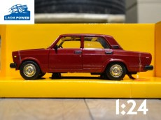 Lada 2107 Red Toy Car 1:24 (19cm)