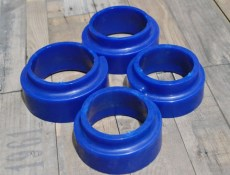 Lada Niva Lift Front and Rear Coil Spring Polyurethane Seat Set