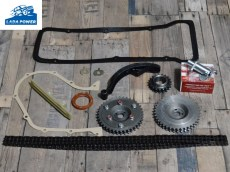 Lada Niva 1700 TBI And Carburetor Timing Chain Service Kit With Adjustable Sprocket And Automatic Tensioner
