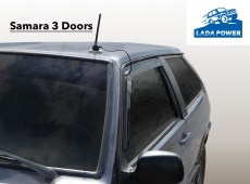 Lada Samara 3 Doors Window Wind Deflector Kit