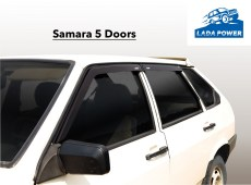 Lada Samara 5 Doors Window Wind Deflector Kit