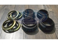 Lada Niva / 2101-2107 Lift Front + 1.5cm And Rear +2.5cm Coil Spring Rubber And Metal Seat Set