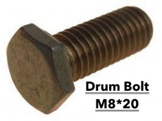Lada Niva Brake Drum Bolt M8*20