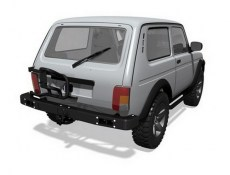F-Design Rear Power HD Bumper And Spare Wheel Carrier Kit