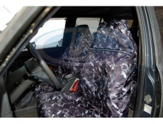 Lada Niva 2101-2107 Universal Water-Proof  Covers For The Front Seats (Grey Camouflage)